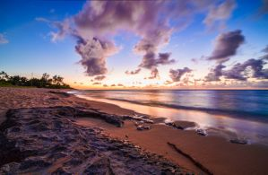 Sunset Beach by TPextonPhotography