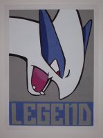 Legendary Lugia by IceRoadLion