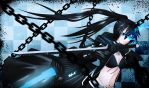 Black Rock Shooter by Heart-tsukikage