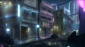 Cybercity Knights - Outer Districts by BadLuckArt