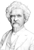Mark Twain by Daddyo4