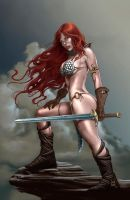 Red Sonja again by imaginante