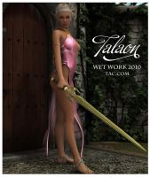 Talaon full sized TAC Wet Work by Rozbeans
