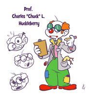 Toonsday - Prof. Charles L. Huckleberry by Atrox-C