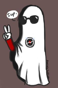 October Challenge Day 1: Ghost Dave by xxDreamWhispererxx