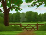 HHs / HHEC Facilities - Pasture Gate by daggerstale
