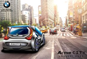 BMW ActiveCITY Concept in New York City by toyonda