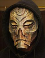 Skyrim Dragon Priest Mask - facebook style by hsholderiii