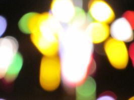 Unfocused Fountain Firework by Toderico