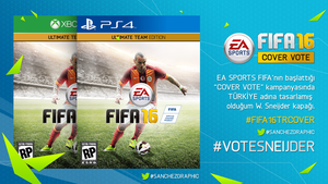 FIFA 16 #COVERVOTE for Wesley Sneijder by SanchezGraphic