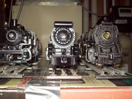 My Toy trains by KirovRampager