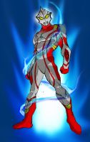 Ultraman Mebius - Colored by peacemakerzaragoza