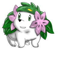 shaymin by The-Bomb-Dot-Com