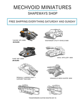 Free Shipping at Shapeways! (OUTDATED) by multihawk