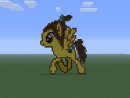 Firelord Mandy on Minecraft by GoWaterTribe