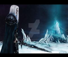 Arthas by anrehah
