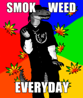 SMOK WEED EVERYDAY! by ZeWqt