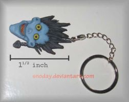 Ryuk keychain by snoday
