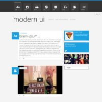 Modern Ui Theme for Tumblr by diego-costa