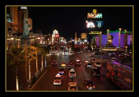 Las Vegas: Las Vegas Strip by nutnic