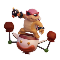 SSB Collab: Roy Koopa by SmashingRenders