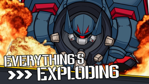 Everything's Exploding by CrankyConstruct
