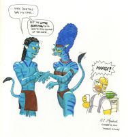Marge's Avatar by Gulliver63