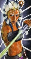 Ahsoka: SWCW Wide Vision Retun by gattadonna