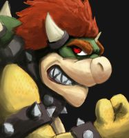 Bowser by Taylor-Art
