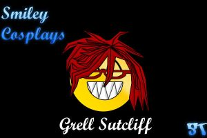Smiley Cosplay: Grell Sutcliff by shintalz