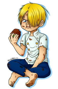 Kid Sanji by WhiteOblivion