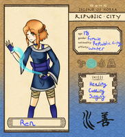 Republic city:Ren by Tess-Is-Epic
