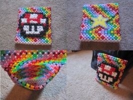 Mini bead bag by CompulsiveColorer