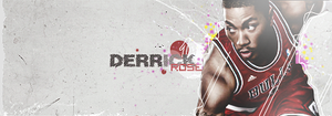Derrick Rose 2nd signature by iRedGfx