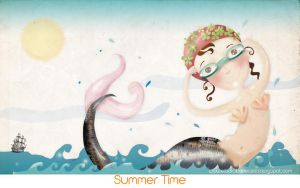 Summer Time by estygia