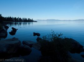 East Shore Tahoe sunrise by MartinGollery