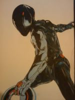 Rinzler almost :| (pro marker) by Thestickibear