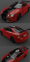 Toyota Celica GT4- Tunning 1 by adit1001