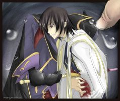 Death of Lelouch by marymarhta