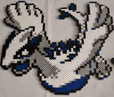 Large Lugia Perler by Perler-Pop