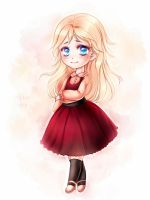 Chibi Commission: Emily by Lio-Sun