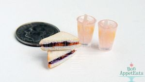 1:12 Peanut Butter and Jelly with Pink Lemonade by Bon-AppetEats
