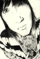 Oliver Sykes. by Tropical-Rain