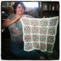 Baby Blanket by Crowmamma