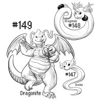 PKMN-A-DAY: Dragons by the-b3ing