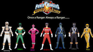 My Dream Power Ranger Team by PhoenixLament786