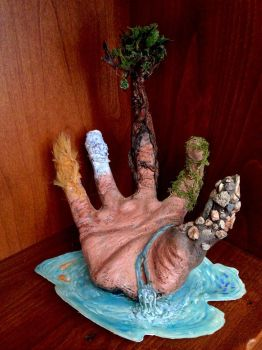 Hand of Nature by TinyThumbs