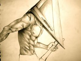 Pyramid Head WIP2 by silversunned