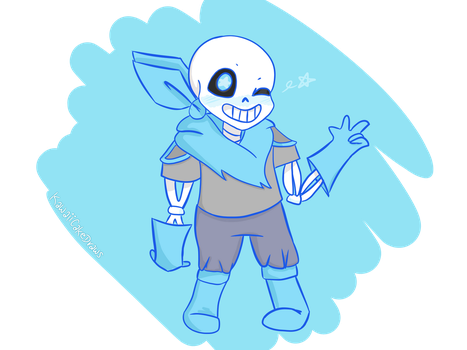 Underswap! Sans by KawaiiCakeDraws