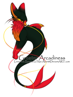 Firey greater -CLOSED- by Kurosu-Commishes